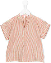 Anne Kurris - Tea Lines blouse - kids - Cotton/Lurex - 4 yrs