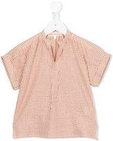 Anne Kurris - Tea Lines blouse - kids - Cotton/Lurex - 6 yrs