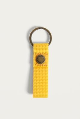Fjallraven Kanken Yellow Keyring - Yellow ALL at Urban Outfitters