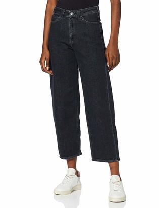 Lee womens 5 POCKET WIDE LEG Straight Straight Jeans
