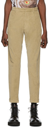 DSQUARED2 Beige Hockney Fit Trousers