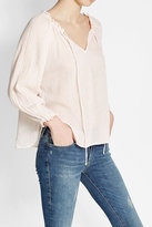 Velvet Cotton Blouse