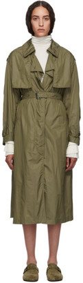 Isabel Marant Khaki Clem Raincoat
