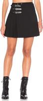 McQ by Alexander McQueen Buckle Pleat Skirt