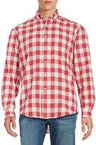 Duck Head Footwear Patterned Cotton Sportshirt