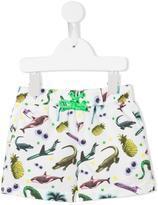 Stella McCartney printed swim shorts - kids - Polyester - 9 mth