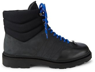 Bally Shearling Lined Leather Boots