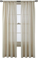 Martha Stewart MarthaWindowTM Figment Rod-Pocket/Back-Tab Curtain Panel