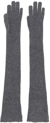 Brunello Cucinelli Long Knitted Gloves