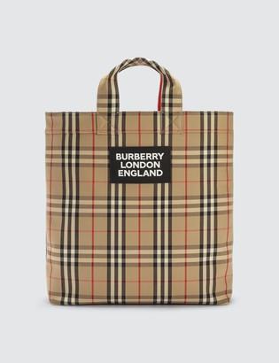Burberry Vintage Check Tote Bag
