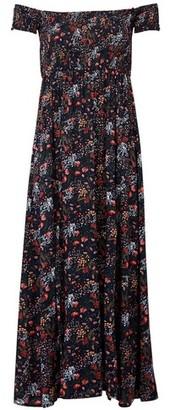 Dorothy Perkins Womens *Izabel London Multi Colour Floral Print Bardot Maxi Dress, Multi Colour