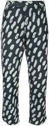 Marni Graphic Print Jeans