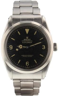 Rolex 2001 pre-owned Explorer 36mm