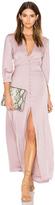 Oh My Love 3/4 Sleeve Maxi Tea Dress