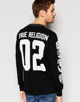 True Religion Waffle Knit Logo Jumper