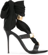 Giuseppe Zanotti Design ribbon stiletto sandals