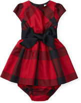 Ralph Lauren Plaid Taffeta Dress & Bloomer