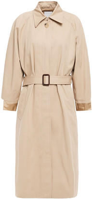 Sandro Rafael Belted Cotton-gabardine Trench Coat