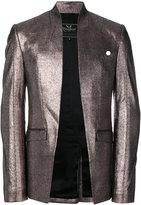 Unconditional foiled effect cutaway jacket - men - Silk/Cotton - S