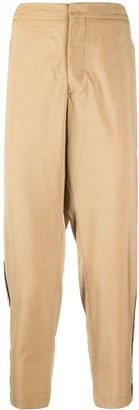 Barena Cropped Elasticated Waist Trousers