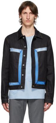 Cornerstone Black Denim Coated Jacket