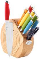 Fiesta Multi-Colored 11-Piece Knife Block Set