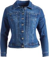 Live A Little Indigo Denim Jacket - Plus