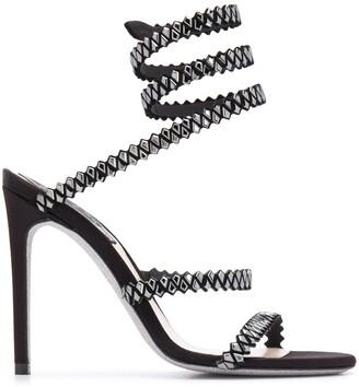 Rene Caovilla Studded 120 Sandals