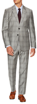 Paul Smith Wool Checkered Notch Lapel Suit