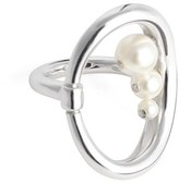 Charlotte Chesnais Women's Synthetic Pearl Turtle Ring (Nordstrom Exclusive)