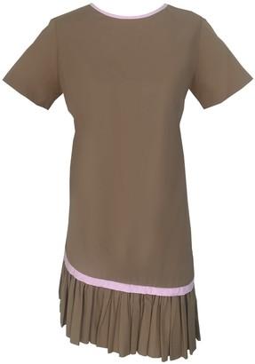 Onelady T-Shirt Dress Beige Becky