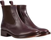 L'Autre Chose LAutre Chose Leather Chelsea Boots in Coffee Brown