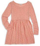 Splendid Toddler's, Little Girl's & Girl's Star-Print Fit-&-Flare Dress