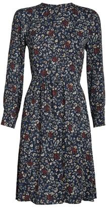 Chloé Floral Print Shift Dress