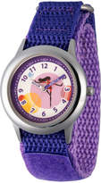 Disney The Incredibles 2 Violet Girls Purple Strap Watch-Wds000577