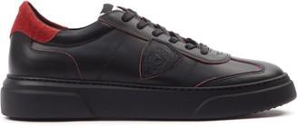 Philippe Model Balu Black Sneakers In Leather