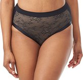 Olga Women's Plus Size Light Shaping Hicut with Lace