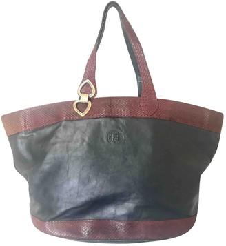 Fendi Black Exotic leathers Handbags