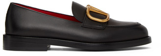 Valentino Black Garavani VLogo Loafers