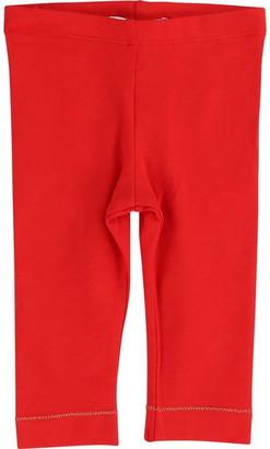 Little Marc Jacobs Girls Red Leggings