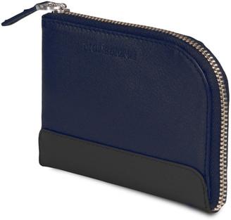 Moleskine Classic Navy Leather Smart Wallet
