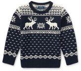 Ralph Lauren Little Boy's Reindeer Sweater