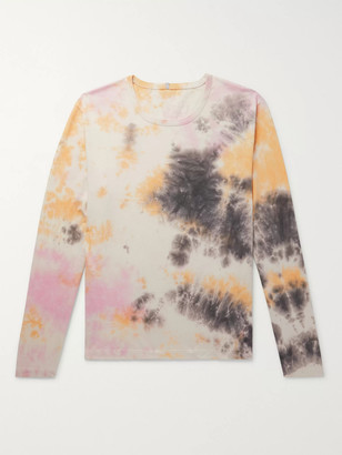 McQ Unity Appliqued Tie-Dyed Cotton-Jersey T-Shirt