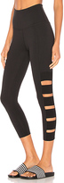 Beyond Yoga Wide Band Stacked Legging in Black. - size L (also in )