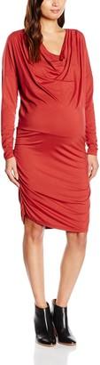 Mama Licious Mamalicious Women's MLGAIL Nell Jersey Nursing Function Long Sleeve Maternity Dress
