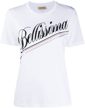 Liu Jo Bellissma embellished T-shirt