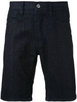Stone Island raw twill denim shorts - men - Cotton/Spandex/Elastane - 30