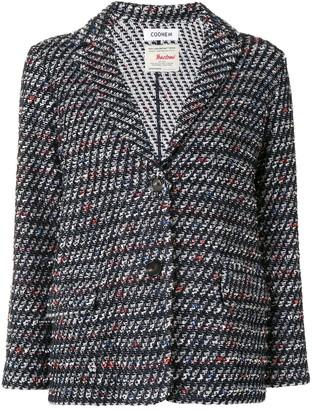Coohem Single Breasted Tweed Jacket