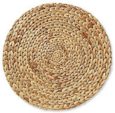 Southern Living Round Woven Water Hyacinth Placemat