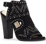Jessica Simpson Rhylee High Heel Studded Mules